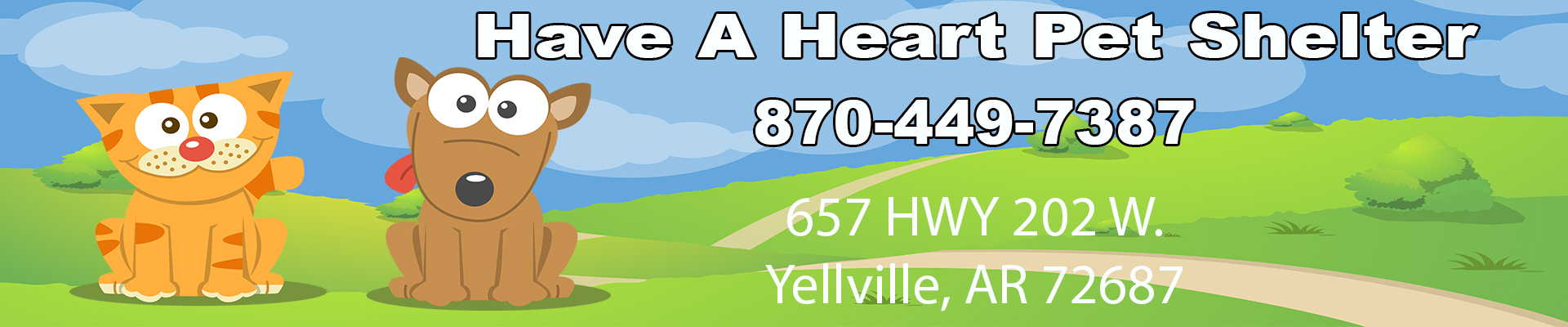 Have A Heart Pet Shelter-Banner